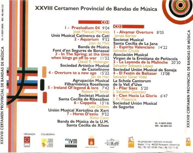 XXVIII certamen Provincial de Bandas de Música